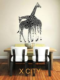 Jungle Nursery Wall Decor Jungle Safari Wall Decals Cool Safari Wall Jungle Wall For