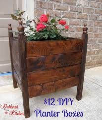12 diy planter boxes