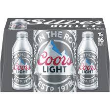coors light beer 15 pack 16 fl oz walmart com