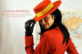 unforgettable halloween costumes halloween costumes in your closet carmen sandiego u2013 cable car couture