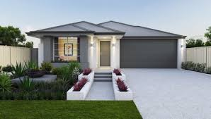 home designs narrow lot single storey homes perth cottage home designs