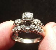 art deco wedding ring set wedding ideas