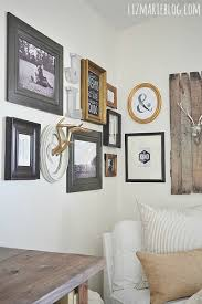 how to do a gallery wall how to diy corner gallery wall liz marie blog