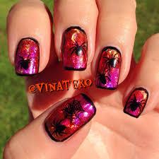 halloween spider nails i u0027m so excited october u0026 halloween nails
