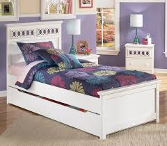 ashley signature design zayley twin panel bed with trundle storage