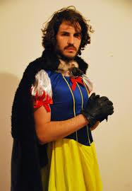 fancy dress jon snow white