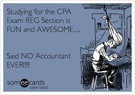 Cpa Exam Meme - studying for the cpa exam reg section is fun and awesome said