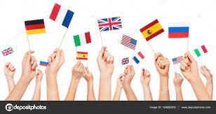 Country Flags Small Flags Of Usa And European Countries U2014 Stock Photo Serrnovik