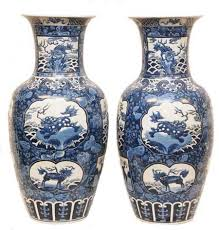Blue And White Vases Antique White Jadeite Guan Yin Stands To Earn 350k In Florida Auction