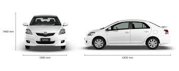 width of toyota yaris toyota yaris 1 3 2006 auto images and specification