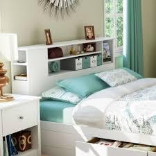 white queen bookcase headboard 3769