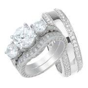 Wedding Rings Sets For Him And Her by Wedding Ring Sets For Him U0026 Her