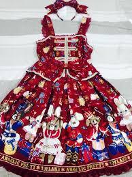 ap merry bunny set jsk headbow jumperskirt lace market
