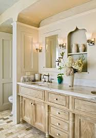 distressed bathroom vanity bathroom transitional with white