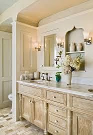 Distressed Bathroom Vanities Distressed Bathroom Vanity Bathroom Transitional With White