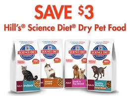 science diet coupons 3 off dog or cat food