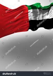 Colors Of Uae Flag United Arab Emirates Flag Uae Colors Stock Illustration 690225043