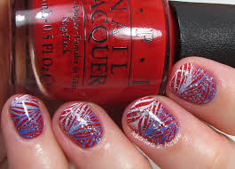 patriotic nail art adventures in acetone