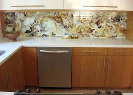 Glass Backsplash Trend  Ugly House Photos - Painted glass backsplash