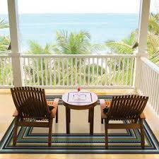 Outdoor Balcony Rugs Bordered Area Rugs Luxedecor