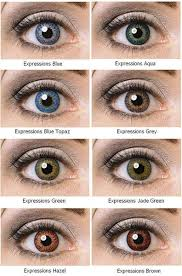 colored contacts pop baby blues style
