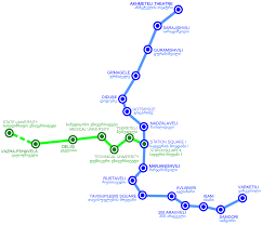Shenzhen Metro Map In English by Tbilisi Metro Map Hotels In Tbilisi