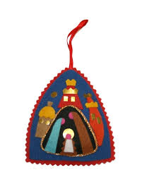 felt christmas ornaments center christmas ornament felt nativity