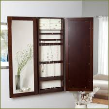 Wall Mount Jewelry Cabinet Diy Wall Mount Jewelry Cabinet Home Design Ideas