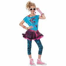 Youth Halloween Costumes 80s Valley Tween Halloween Costume Walmart