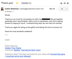 Thank You For Your Continued Business Letter by How 3 Emails Tripled My Number Of Potential Clients Growthlab