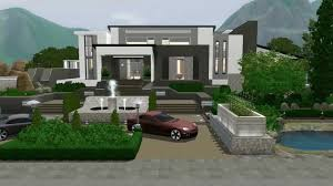 modern sims 3 house plans amazing house plans