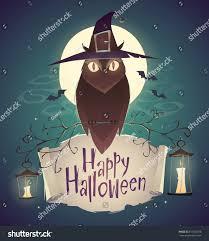 happy halloween graveyard background happy halloween card background poster vector stock vector