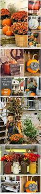 Pinterest Fall Decorations For The Home Beautiful Porch Decor Made With An Washtub Filled With