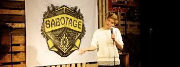 sabotage charity special at backyard comedy club