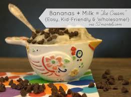 tot tuesday kid friendly banana ice cream recipe see