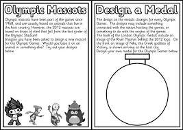 summer olympics designing medals u0026 mascots