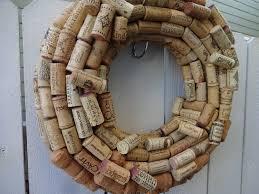 wine cork wreath wine corks christmas gift wreath home decor