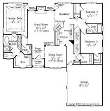 the jenner house plan first house pinterest