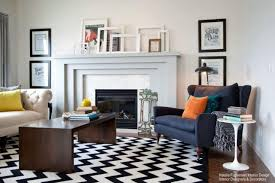 Living Room Modern Rugs How To Use Bold Graphic Modern Area Rugs In Your Home Nw Rugs