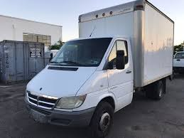 dodge commercial van 2006 used dodge sprinter 3500 dually 12 foot box truck mercedes
