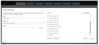 pattern rule directory flat file masking