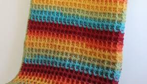 free crochet blanket pattern featuring caron cake yarn amanda