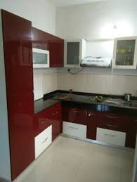 Kitchen Tall Cabinets L Shaped Modular Kitchen Wall Cabinet Wall Unit Glass Shutter