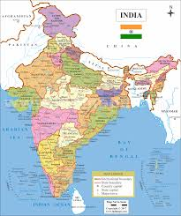 Blank India Map With State Boundaries by India Map India Map With States India Maps