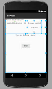 z index android relative layout android layout linearlayout relativelayout journaldev