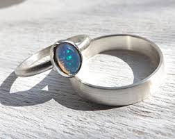 Opal Wedding Rings by Opal Wedding Ring Etsy