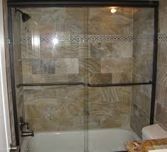 tub with glass shower door gulfside glass and mirror tarpon springs florida