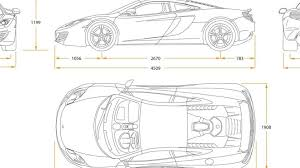 mclaren f1 drawing mclaren mp4 12c initial sales strong video