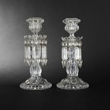 candelieri cristallo coppia di candelieri in cristallo baccarat expertissim