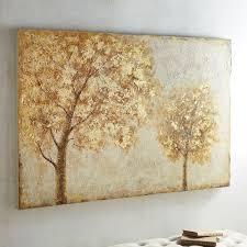 pier 1 home decor golden trees art pier 1 imports